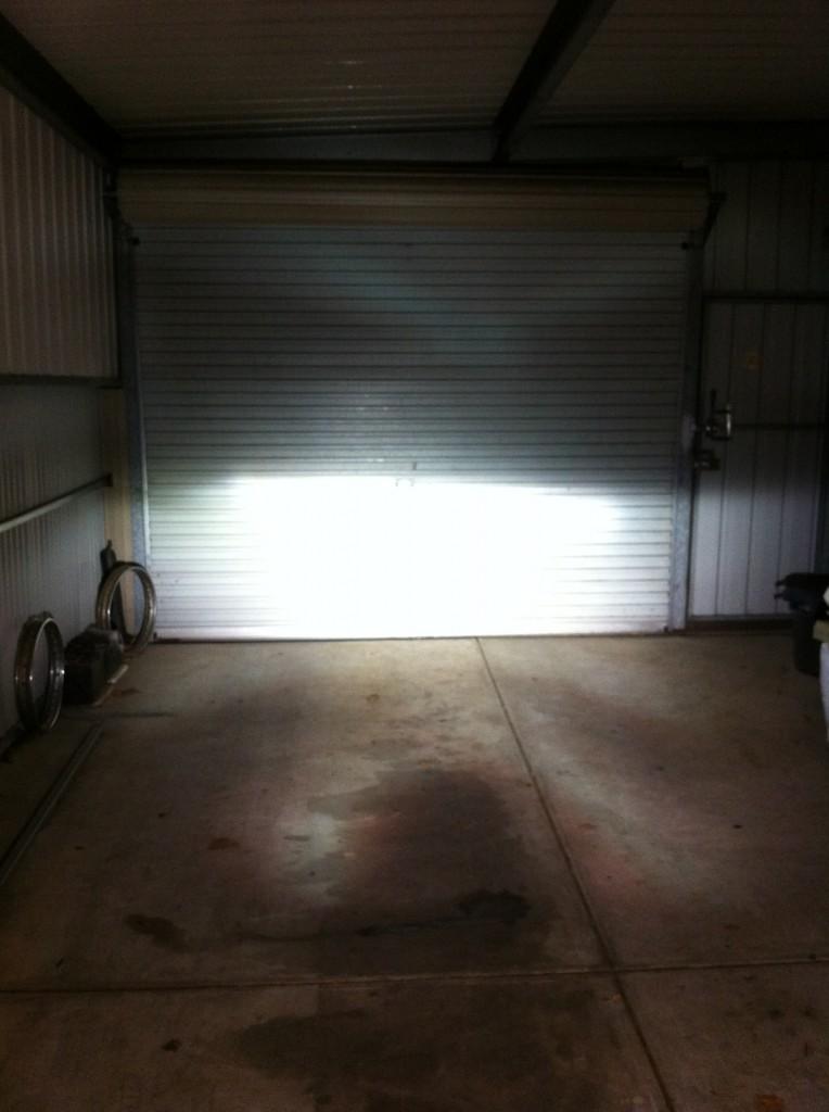 HID in Garage