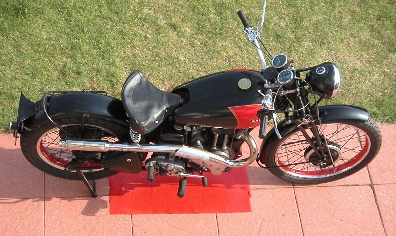 My 1938 Ariel Red Hunter, 2003, Germany